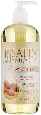 Reinigungsöl zum Entfernen der Wachsreste mit Mandelöl - Satin Smooth Wax Residue Remower Oil — Bild N1