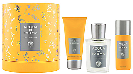 Düfte, Parfümerie und Kosmetik Acqua Di Parma Colonia Pura - Duftset (Eau de Cologne/100ml + Duschgel/75ml + Deodorant/50ml)