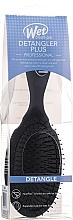 Düfte, Parfümerie und Kosmetik Haarbürste schwarz - Wet Brush Pro Detangler Plus Hair Brush Black