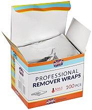 Aluminiumfolie zum Entfernen von Hybridlack - Ronney Professional Remover Wraps — Bild N2