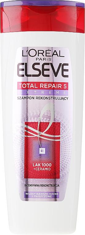"""Reparatur-Shampoo """"Total Repair 5"""" - L'Oreal Paris Elseve Shampoo — Bild N3"""