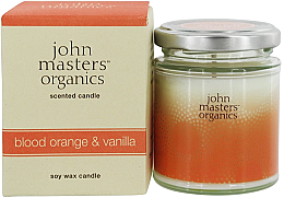 Düfte, Parfümerie und Kosmetik Soja-Duftkerze Blood Orange & Vanilla - John Masters Organics Soy Wax Candle Blood Orange & Vanilla