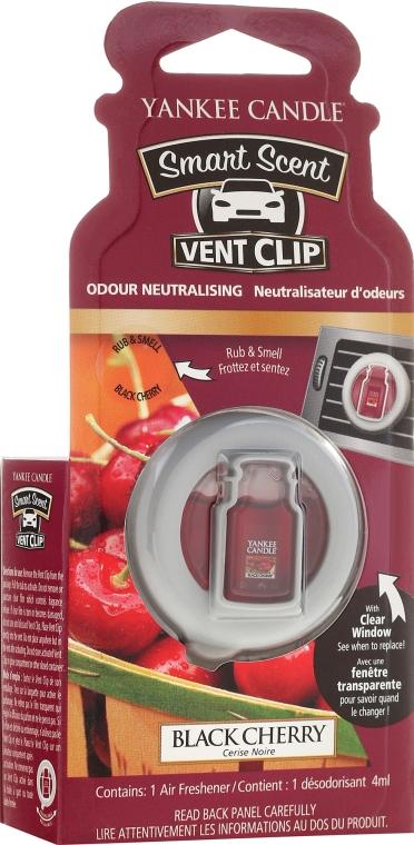 Auto-Lufterfrischer Black Cherry Duftclips - Yankee Candle Smart Scent Vent Clip Black Cherry — Bild N1