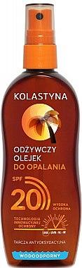 Wasserdichtes Bräunungsöl SPF 20 - Kolastyna — Bild N1