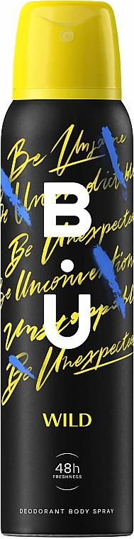 B.U. Wild - Deospray — Bild N1