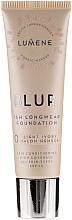 Düfte, Parfümerie und Kosmetik Langanahaltende Foundation LSF 15 - Lumene Blur 16H Longwear Foundation SPF 15 2 Soft Honey