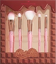 Düfte, Parfümerie und Kosmetik Make-up Set - I Heart Revolution Chocolate Brush Set