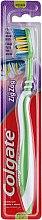 Düfte, Parfümerie und Kosmetik Zahnbürste mittel Zig Zag grün-weiß - Colgate Zig Zag Medium Toothbrush