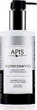 Gesichtsreinigungsgel mit Aktivkohle - APIS Professional Cleansing Gel — Bild N1