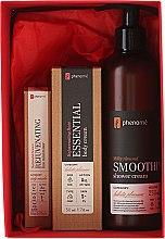 Körperpflegeset - Phenome (Körpercreme Rose 50ml + Anti-Aging Gesichtscreme 10ml + Duschcreme Mandel 250ml) — Bild N1