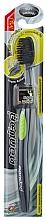 Düfte, Parfümerie und Kosmetik Antibakterielle Zahnbürste mit Aktikohle weich grün - Twin Lotus Bamboo Charcoal Toothbrush