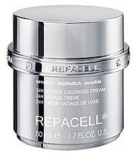 Düfte, Parfümerie und Kosmetik Luxuriöse Anti-Aging Gesichtscreme für empfindliche Haut - Klapp Repacell 24H Antiage Luxurious Cream Sensitive