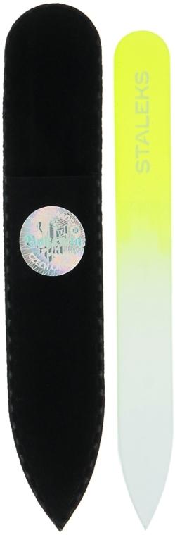 Kristall-Nagelfeile F4-12-90 gelb - Staleks (9cm) — Bild N1