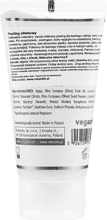 Gesichtspeeling mit Olivensamen - Naturativ Olive Exfolianting Face Scrub — Bild N2