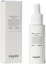 Düfte, Parfümerie und Kosmetik Feuchtigkeitsspendendes, regenerierendes und beruhigendes Gesichtsserum mit Hyaluronsäure, Panthenol und Vitamin B5 - Jorgobe Hyaluronic Serum