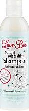 Düfte, Parfümerie und Kosmetik Love Boo Natural Soft And Shiny - Entwirrendes Shampoo mit Arganöl und Papaya-Extrakt