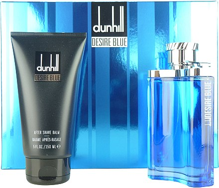 Alfred Dunhill Desire Blue - Duftset (Eau de Toilette 100ml + After Shave Balsam 150ml) — Bild N1