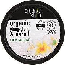 Düfte, Parfümerie und Kosmetik Bio Körpermousse mit Neroli und Frangipani - Organic Shop Body Mousse Organic Neroli & Frangipani