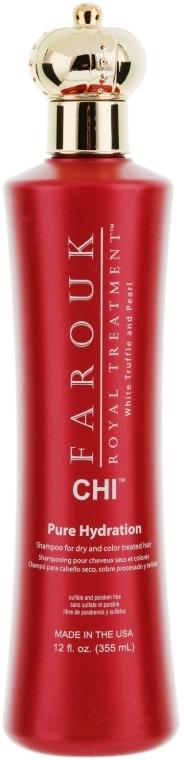 Feuchtigkeitsspendendes Shampoo für trockenes und coloriertes Haar - CHI Farouk Royal Treatment by CHI Hydration Shampoo — Bild N1