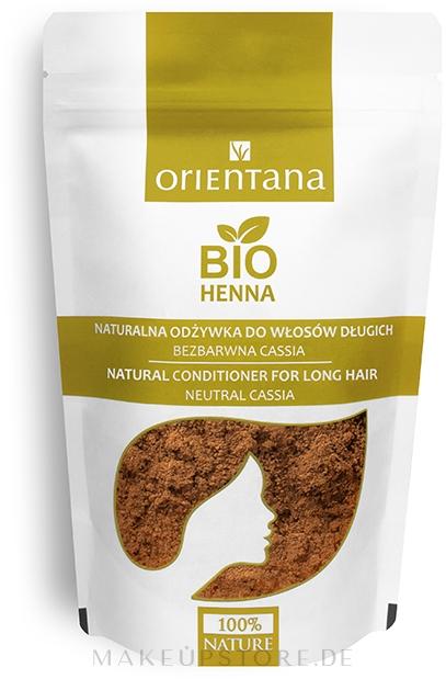 Pflegende pflanzliche Haarspülung für lange Haare - Orientana Bio Henna Herbal Long Hair Conditioner — Bild 100 g