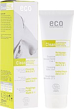 Düfte, Parfümerie und Kosmetik Reinigungsmilch 3in1 Grüntee und Myrte - Eco Cosmetics