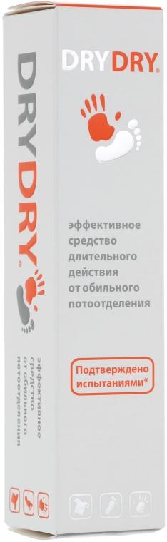 Langanhaltende Behnadlung gegen übermäßiges Schwitzen für Achseln, Füße und Hände - Excelsior Dry Dry — Bild N3