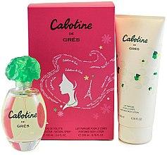 Düfte, Parfümerie und Kosmetik Parfums Gres Cabotine - Duftset (Eau de Toilette/100ml + Körperlotion/200ml)