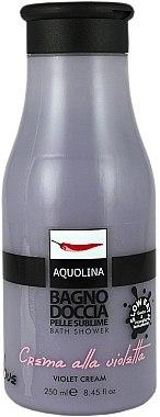 Badeschaum - Aquolina Le Gourmand Florals Bath Foam Violet cream — Bild N1
