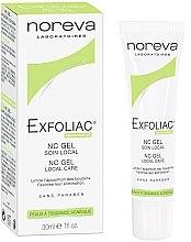 Düfte, Parfümerie und Kosmetik Gesichtsgel für lokale Hautpflege gegen Akne - Noreva Laboratoires Exfoliac Gel-NC