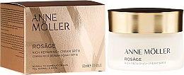 Düfte, Parfümerie und Kosmetik Reichhaltige regenerierende Gesichtscreme SPF 15 - Anne Moller Rosage Rich Repairing Cream Spf15