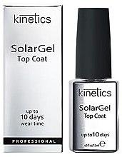 Düfte, Parfümerie und Kosmetik Schnelltrocknender Nagelüberlack mit Gel-Effekt - Kinetics Top Coat Solar Gel Up To 10 Days