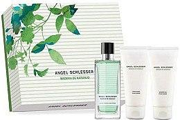 Düfte, Parfümerie und Kosmetik Angel Schlesser Madera de Naranjo - Duftset (Eau de Toilette/100ml + After Shave Gel/ 2x100ml)