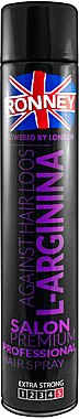 Haarlack - Ronney Against Hair Loos L-Arginia Hair Spray — Bild N1