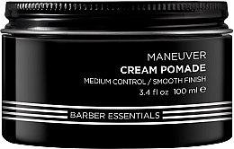 Düfte, Parfümerie und Kosmetik Haarpomade auf Wasserbasis - Redken Brews Cream Pomade