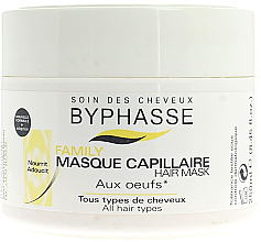 Düfte, Parfümerie und Kosmetik Haarmaske mit Eigelb - Byphasse Family Multivitamin Complexe Mask