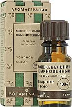 """Düfte, Parfümerie und Kosmetik Ätherisches Öl """"Wacholder"""" - Botanika Essential Oil"""