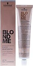 Blond Weißkaschierungscreme - Schwarzkopf Professional BlondMe White Blending — Bild N1
