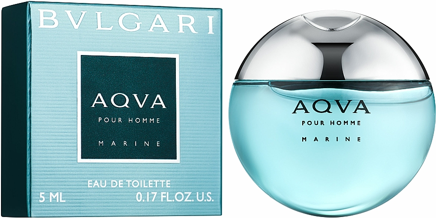 Bvlgari Aqva Pour Homme Marine - Eau de Toilette (Mini)  — Bild N1