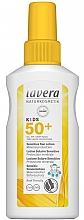 Düfte, Parfümerie und Kosmetik Sensitive Sonnenschutzlotion für Kinder mit mineralischem Sofortschutz SPF 50+ - Lavera Kids Sensitive Sun Spray SPF 50