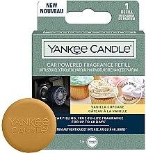 Düfte, Parfümerie und Kosmetik Duftstein für Autoduftanhänger - Yankee Candle Car Powered Fragrance Vanilla Cupcake (Refill)