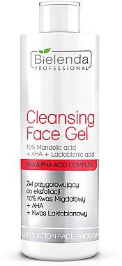 Exfolierendes Gesichtsgel - Bielenda Professional Exfoliation Face Program Cleansing Face Gel — Bild N1