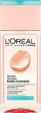 Düfte, Parfümerie und Kosmetik Reinigungstonikum für normale und Mischhaut - L'Oreal Paris Rare Flowers Tonic for Normal and Combinating Skin