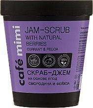 Düfte, Parfümerie und Kosmetik Glättendes Körperpeeling - Cafe Mimi Jam-Scrub With Natural Berries