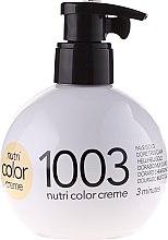 Düfte, Parfümerie und Kosmetik Revlon Professional Color Creme Nr.1003 hellgold - Revlon Professional Nutri Color Creme