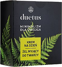 Düfte, Parfümerie und Kosmetik Gesichtspflegeset - Duetus (Gesichtsreinigungsgel 150ml + Tagescreme 50ml)