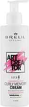 Düfte, Parfümerie und Kosmetik Creme für lockiges Haar mit Kaktusextrakt Extra starker Halt - Brelil Art Creator Curly Memory Cream
