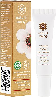 Augenkonturcreme - Natural Being Manuka Honey Eye Cream — Bild N1