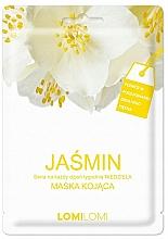 Düfte, Parfümerie und Kosmetik Beruhigende Tuchmaske für das Gesicht mit Jasmin - Lomi Lomi Jasmine Mask