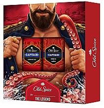 Duftset - Old Spice Captain For The Legend (Deo-Stick 50g + 2in1 Duschgel und Shampoo 250ml) — Bild N1
