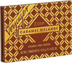 Düfte, Parfümerie und Kosmetik Lidschattenpalette - Zoeva Caramel Melange Voyager